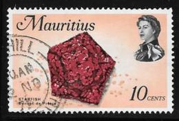 Mauritius, Scott # 343 Used Starfish, 1969 - Mauritius (1968-...)