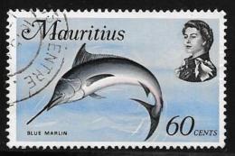 Mauritius, Scott # 351 Used Blue Marlin, 1969 - Mauritius (1968-...)