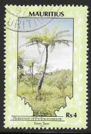 Mauritius, Scott # 693 Used Fern Tree, Dated 1994 - Mauritius (1968-...)