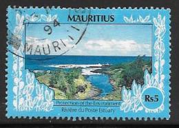 Mauritius, Scott # 694 Used Estuary, 1989, Undated - Mauritius (1968-...)