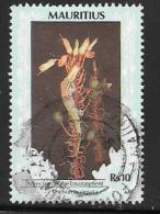 Mauritius, Scott # 696 Used Flower, Dated 1998 - Mauritius (1968-...)