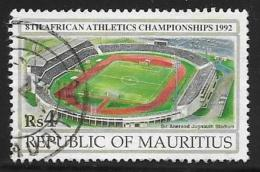 Mauritius, Scott # 752 Used Stadium, 1992 - Mauritius (1968-...)