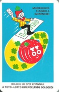 GAMBLING * LOTTERY * FOOTBALL POOL * FOUR LEAF CLOVER * CALENDAR * Kirendeltseg 1978 * Hungary - Calendriers