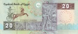 EGYPT  P. 65h 20 P 2012 UNC - Egipto