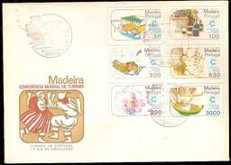 Portugal & FDC Madeira, World Tourism Conference, Lisbon 1980 (1486) - Autres