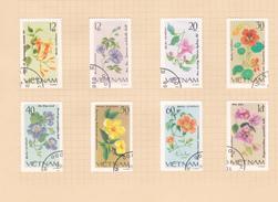 Vietnam  S 1098-1105 1980 Flowers Used Set - Vietnam