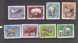Vietnam  S 1985-992 1979 Domestic Animals Used Set - Vietnam