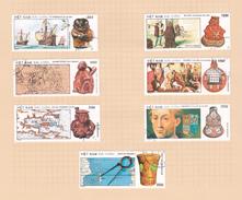 Vietnam  S 2118-2124 1990 Columbus Used Set - Vietnam