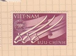 Vietnam 1952 Semi Postal Sabers And Flags Mint - Vietnam