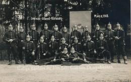 MILITARIA - Carte Photo - Groupe De Soldats Prussiens Au Stand De Tir - Mätz 1912 - Guerre 1914-18