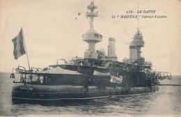 MILITARIA - Bateau De Guerre Français - LE HAVRE - LE MASSÉNA - Cuirassé D'escadre - Equipment