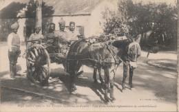 MILITARIA - Guerre 1914 - Les Troupes Indiennes E France - Type De Voiture Réglementaire De Ravitaillement - Equipment