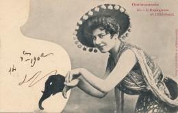 Ombromanie - L'Espagnole Et L'éléphant - Silhouettes