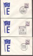 Austria - 1966 1961 - Cover - Europatag, Juvaviatag, Europagesprach - 1961-70 Covers