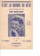 Partition- C'est La Barque Du Revet - Leo Marjane   - Paroles:l. Henneve  -Musique: Cliff Friend - Non Classés