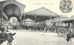 Orléans - Pavillons Des Halles - Chevaux - Magasins De La Ville D'Orléans - Carte N° 27 - Orleans