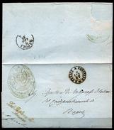 San-Felice-a-Cancello-1 - Piego In Franchigia Con Bollo A Due Cerchi Di Fornitura Locale. - 1861-78 Vittorio Emanuele II