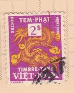Vietnam J7 1955 Postage Due  2 Pi  Used - Vietnam