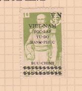 Vietnam North 1946 1 Pi Pale Yellow Green Mint - Vietnam