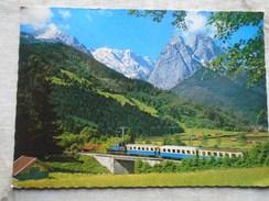 D145348 Garmisch Partenkirchen  Zugspitz Zanhbahn Train  Railway Stamp Train Engine - Eisenbahnen
