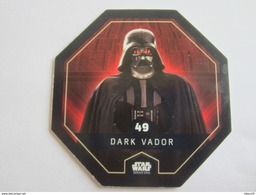 JETON STAR WARS COLLECTION LECLERC 2016 N 49 DARK VADOR - Gift Cards