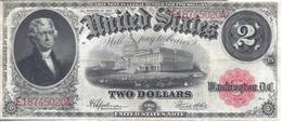 USA 1917 Large Size $2 United States Note (Speelman/White) Fr# F-60 VF+ - United States Notes (1862-1923)