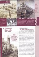 Passé Recomposé, Namur, Cité Du Moyen Age (dépliant 16 Pages, 2001) - Culture
