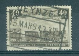 "BELGIE - OBP Nr TR 199 - Cachet  ""DEYNZE - INDICATEUR _____"" - Cote 5,00 € - (ref. AD-8943) - Ferrocarril"