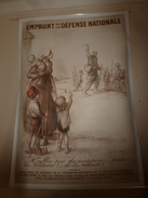 1915 Grande Affiche Ancienne Originale EMPRUNT DE LA DEFENSE NATIONALE , Imp. DEVAMBEZ, Paris (112 X 82 Cm) Par POULBOT - Affiches
