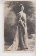 FEMMES - FRAU - LADY - SPECTACLE - ARTISTES  Jolie Carte Fantaisie Portrait Femme Artiste CLAUDE RITTER SERIE N. 13 1902 - Donne