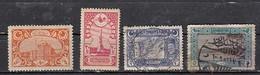 Turquie   1917    4 Valeurs - 1858-1921 Empire Ottoman