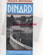 35 - DINARD- DEPLIANT TOURISTIQUE - IMPRIMERIE A. LIORIT - ANNEES 50-60 - Dépliants Turistici