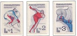 Czechoslovakia - Olympic Games 1980 MNH - Checoslovaquia