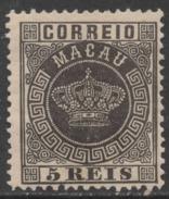 Macau Macao – 1884 Crown Type - Macao
