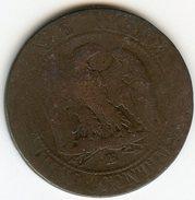 France 5 Centimes 1861 BB GAD 155 KM 797.2 - France