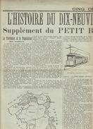Journal Ancien Histoire Du 19èm En Belgique 1901 4 Pages Richement Illustrées Politique Presse Science ... - Journaux - Quotidiens