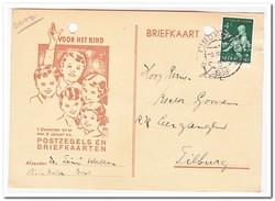 Briefkaart Van Best Naar Tilburg Stempel Eindhoven -6.XII.18 1938 - Periode 1891-1948 (Wilhelmina)