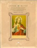 BOUTIGNY INAUGURATION DE LA STATUE ET BANNIERE DU SACRE COEUR DE JESUS DIMANCHE 26 JUIN 1881 - Devotion Images