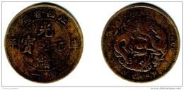 CHINA, KIANGSI, Kwang Hsu - 10 Cash ND (1902)  KM#153.1   VF - China
