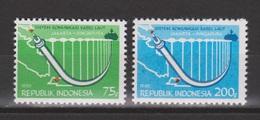 Indonesie 1012-1013 MNH ; Ingebruikneame V/d Onderwater Communicatie Kabel 1980 NOW MANY STAMPS INDONESIA VERY CHEAP - Indonesië