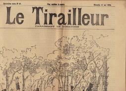 Journal Ancien LE TIRAILLEUR 1894 Caricature Politique Pleine Page Duel Fin De Siècle - Journaux - Quotidiens
