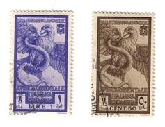 Africa Orientale Italiana 1938 Serie 13 P.a. Bimillenario Di Augusto Timbrati COD.FRA.948 - Africa Orientale Italiana