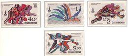 Czechoslovakia - Olympic Games 1980 MNH - Czechoslovakia