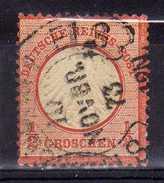 Deutsches Reich, 1872, Mi 3, Gestempelt [271216StkKV] - Germany