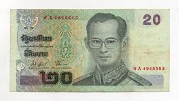 Thailandia -  Banconota Da 20 Bath -  Usata -  (FDC2389) - Tailandia