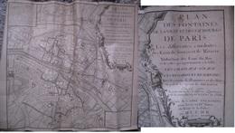 Fontaines De Paris 1737 - Planches & Plans Techniques