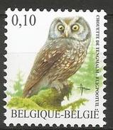 Belgium - MNH - Boreal Owl ( Aegolius Funereus ) - Uilen