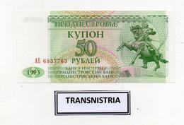 Transnistria (Moldavia)  -  1993 - Banconota Da 50 Rubli -  Nuova -  (FDC2391) - Moldavia