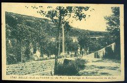 Cpa Du  22  Belle Isle En Terre -- Le Barrage De Kernansquillec     JIP75 - Guingamp