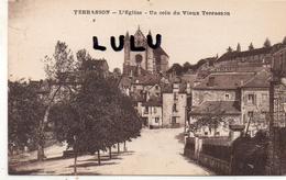 DEPT 24 : Terrasson , L église Un Coin Du Vieux Terrasson - Other Municipalities